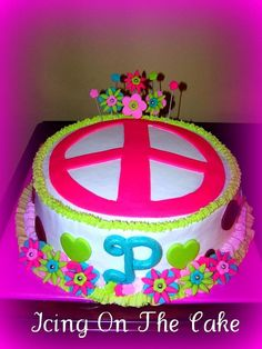 Peace Sign Cakes for Girls | Recent Photos The Commons Getty ...