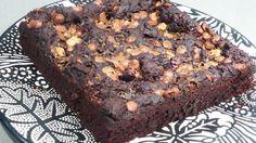 recette vegan du brownie aux haricots rouges et au chocolat