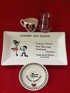 Damat fincanı Turkish Coffee, Wedding Couples, Merry Christmas, Engagement, Mugs, Tableware, Party, Prints, Decor