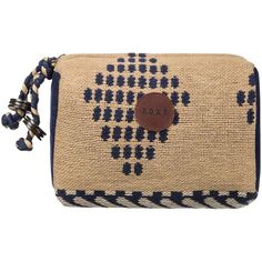 Roxy Territory Wallet ($36) ❤ liked on Polyvore featuring bags, wallets, beige bag, roxy wallet, roxy bags and beige wallet