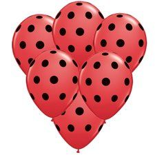 Ladybug Party  Balloons