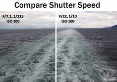 Compare Shutter Speed | Boost Your Photography