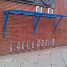 Street Furniture for Urban Spaces - Bailey Street Scene Cycle Shelters, Cycle Stand, Bike Shelter, Bike Shed, Street Furniture, Canopy, Planters, Urban, Architecture