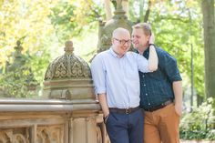Classic New York City Central Park Gay Engagement | Equally Wed - LGBTQ Weddings