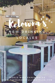 Downtown Kelowna's New Drinking Locales to Try Before Summer's Over - Kelowna is located in the heart of the Okanagan wine valley of British Columbia, Canada New Travel, Canada Travel, Things To Do In Kelowna, Usa Places To Visit, Discover Canada, Drinking Around The World, The Calling, Travel Design, Travel