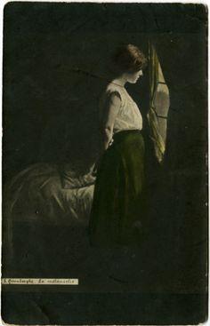 La mélancholie by Edmond De Grimberghe (1865-1920)