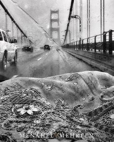 1/2 #sanfransisco #fashionpostcardseries #goldengatebridge 🌧  More to follow  #menahelandmehreen #handcrafted #bridalwear #needlework #zardozi #handembellishment #pakistanifashion #pakistanidesigners #fashion #postcard #travelogue #sanfran #sfo #bridge #bayarea #fromkhitosfo #ihavethisthingwithviews #rainraingoaway #madeinpakistan