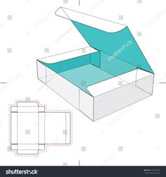 Box Flip Lid Blueprint Layout Stock Vector (Royalty Free) 168252701 - The Best of Minecraft Skins, Buildings and Houses Diy Gift Box, Paper Gift Box, Diy Box, Paper Gifts, Diy Gifts, Gift Boxes, Paper Box Template, Origami Templates, Box Templates