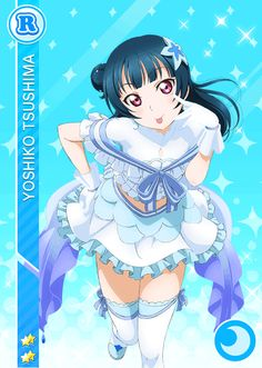 School Idol Tomodachi - Cards Album: #924 Tsushima Yoshiko R