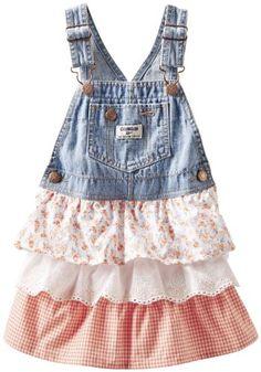 OshKosh B'gosh Baby Girls' Denim Woven Jumper (Baby) - Jetty Wash/Cream - 3 Months OshKosh B'Gosh http://www.amazon.com/dp/B00HSWICSA/ref=cm_sw_r_pi_dp_Q7jJtb104T7TXZZW