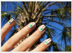 Palm Tree Manicure