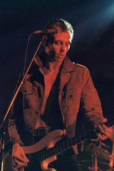 paul simonon of the clash performing at the mogador theatre, september 25, 1981, taken by bernard legon