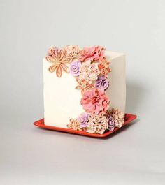 Simple quilling cake