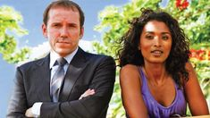 Actress Sara Martins and Ben Miller - Working in Paradise is just Murder Sara Martins, Kris Marshall, Detective, Pbs Mystery, O Film, Death In Paradise, Death On The Nile, Uk Tv, British Actors