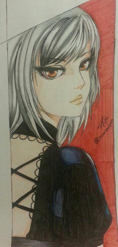 Anime girl... Follow me on instgram..@dawnwhispers.