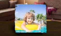 Groupon - One or Three Custom Photo Prints on Slate from PrinterPix (Up to 86% Off). Three Options Available. in Online Deal. Groupon deal price: $5