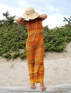 Set Maxi Dress  Bikini Abito Vestito Donna  di BeHappieWorld