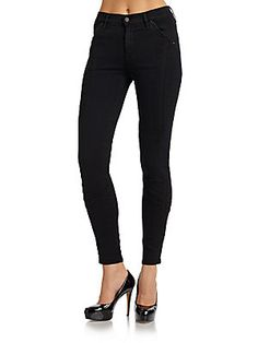 7 For All Mankind Seamed Skinny Jeans