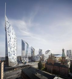 Studio Libeskind's new geometrically inspired project will provide a mixed-use offering of sports, events and office/retail and residential spaces in Tampere...