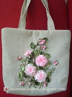 Silk Ribbon Embroidery: