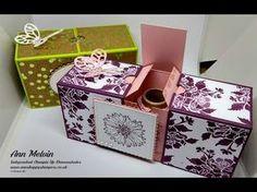 Boîte buchbox 4 pcs 6,5 cm blanc rose mariage boîtes BOX