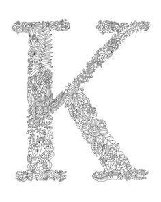 Lizzy Doyle - K Letter 1