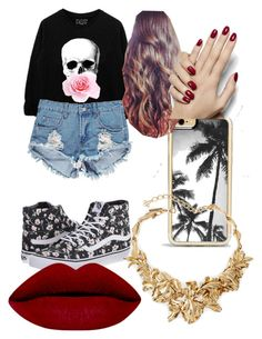""""""""""" by flawlessn28 ❤ liked on Polyvore featuring Vans, Boohoo, Zero Gravity, Oscar de la Renta, women's clothing, women, female, woman, misses and juniors"""