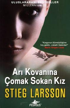 """Okur Testi  """"Arı Kovanına Çomak Sokan Kız - Stieg Larsson""""  (Luftslottet Som Sprangdes ) Pegasus Yayınları http://beyazkitaplik.blogspot.com/2012/02/ar-kovanna-comak-sokan-kz-okur-testi.html"""