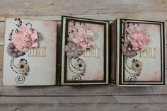 Embellishing Mini Album Covers & Pages