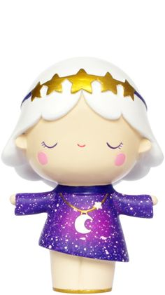 Momiji are hand-painted resin message dolls. inside every one there's a tiny folded card for your own secret message.Most Momiji are ap Momiji Doll, Kokeshi Dolls, Blythe Dolls, Pokemon Alola, Kawaii Doll, Galaxy Art, Cute Gifts, Thoughtful Gifts, Yoshi