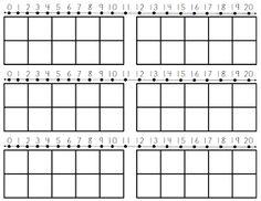 number line & ten frames