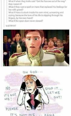 What if Hans wasn't evil