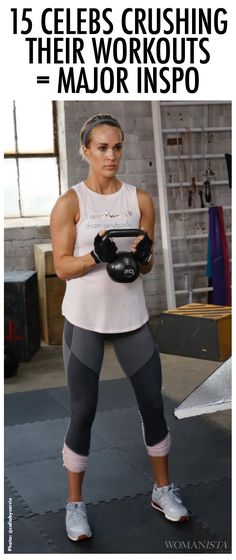 15 celebs crushing their workouts = the major fitspo you need today to hit the gym 4 Week Workout Plan, Workout Challenge, Weekly Workout Plans, Fitness Nutrition, Fitness Goals, Fitness Tips, Fitness Motivation, Celebrity Workout, Celebrity Fitness