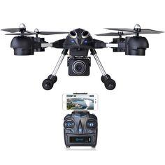 Contixo F10 Quadcopter RC Drone, 4 Channel, 2.4GHz, 6 Axis Gyro RTF, Support GoPro HERO Cameras (WiFi HD Camera  #ad
