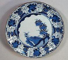 Japanese Imari Kraak Style Porcelain Dish 18th Century Japan / Japanese Antiques / Japanese Art : More At FOSTERGINGER @ Pinterest️