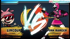 Pink Ranger VS Lincoln Loud In A Nickelodeon Super Brawl World Brawlville PVP Mode Match / Battle This video showcases Gameplay of The Pink Ranger From The Power Rangers Serie VS Lincoln Loud From The Loud House Series In A Nickelodeon Super Brawl World Brawlville PVP Mode Match / Battle / Fight