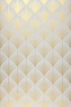 art deco 34 Ft Prix par rouleau (par m - art Design Art Nouveau, Motif Art Deco, Art Deco Pattern, Pattern Design, Art Deco Art, Gold Pattern, Wallpaper Art Deco, Gold Wallpaper, Pattern Wallpaper