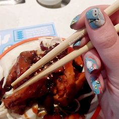 """Casually eating chicken teriyaki and sushi with baymax  Full mani to be up soon!  #yosushi"" Photo taken by @ashearer3 on Instagram, pinned via the InstaPin iOS App! http://www.instapinapp.com (04/20/2015)"