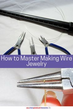 How to Master Making Wire Jewelry   You cannot miss out on these amazing tips, tricks, and techniques for crafting stunning wire jewelry projects!