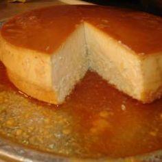 Flancocho, (flan cake) Porto Rican dessert