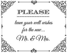 Damask Mr and Mrs wedding sign, only 3 bucks!