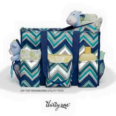 BABY BAG gift idea from Thirty-One https://www.mythirtyone.ca/2594137/shop/Catalog/ItemDetail/4451