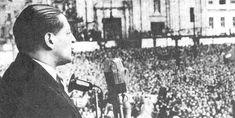 """""""Yo no soy un hombre, yo soy un pueblo. Y el pueblo es mayor a sus dirigentes."""" (I am not a man, I'm a people. And the people is greater than their leaders. Vintage Photos, War, Concert, Tan Solo, Liberal Party, Syria, 10 Years, Barber, Manchester"""