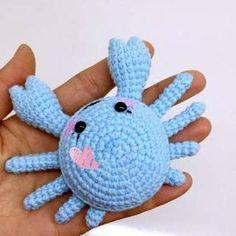 Mesmerizing Crochet an Amigurumi Rabbit Ideas. Lovely Crochet an Amigurumi Rabbit Ideas. Crochet Mignon, Crochet Fish, Cute Crochet, Crochet Crafts, Crochet Projects, Crochet Style, Crochet Baby, Diy Crafts, Crochet Amigurumi Free Patterns