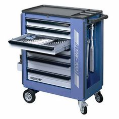 Gedore Tool Trolley With 7 Drawers<br>Model: 2525