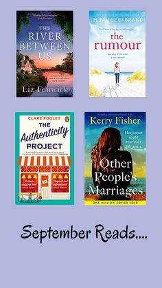 Rae's Reading Round-up/ Women's Fiction Book Reviews/ Book Reviews for September 2021