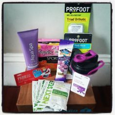 Pretty excited about my @InfluencerVox #GoVoxBox!!! ...I'm ready for summer thanks to @playtex_sport @The Vitamin Shoppe @Blue Diamond Almonds @Profoot_Inc @Aqua Spa Bath and Body Products @Müller Yogurt Stay tuned for more #PlayOn #NextStep #GetYourGoodGoing #GoProFoot #RelaxWithAquaSpa #MullerQuaker #aisforadelaideblog