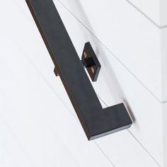 Modern Profile Handrail - 7ft Tube Steel hand rail wall rail stair step railing…