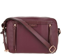 5818329d2f4 London Bags, Radley, Cross Body Handbags, Qvc, Leather Crossbody, Crossbody  Bag