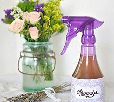 How to Make Lavender Linen Spray